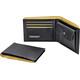 Cocoon Wallet - Porte-monnaie - with Coin Pocket jaune/noir